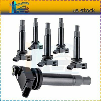 6pcs Ignition Coils For Lexus ES300 RX300 Toyota Avalon 3.0L V6 98-03 OEM UF267
