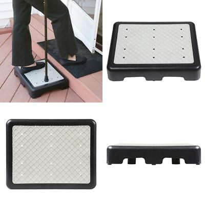 "Support Plus Indoor/Outdoor 3 1/2"" High Riser Step - Non-Slip All Weather Top"
