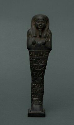 Ancient EGYPTIAN ANTIQUES Egypt Ushabti Shabti Statue Pharaoh Carved Stone BC