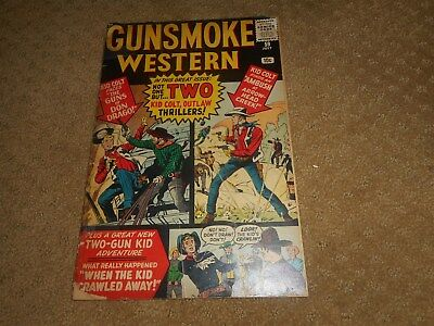 Gunsmoke Western #59 July 1960 Comic Book