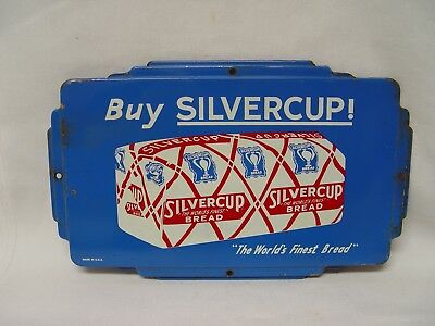 Buy Silvercup The World's Finest Bread Vintage Tin Advertising Sign