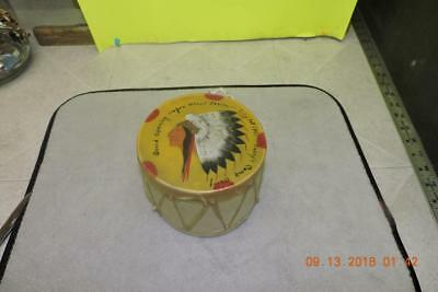Old Wagon Wheel Casino Painted Drum Grand Open July 1937 Curry's Camp Baldy Calf