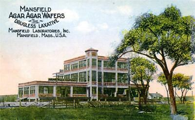6 Old Mansfield, Mass Ma Post Card Views - Free Shipping