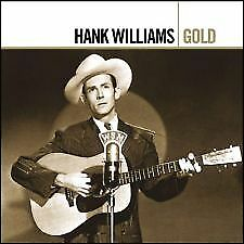 HANK WILLIAMS (2 CD) GOLD Remastered CD  GREATEST HITS / BEST OF *NEW* CD sealed