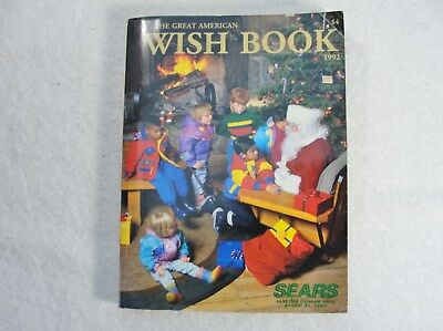 Sears 1992 Wish Book - Lionel Trains, Nintendo, Walkman, VHS Camcorders