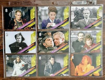 Topps DOCTOR WHO Timeless - TIME TRAVELERS Complete 10 Card Chase Set