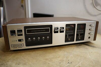 Wollensak 3M 8050A Stereo 8 Track Tape Deck
