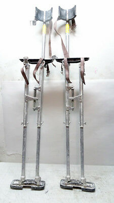"Dura-Stilts Genuine Dura lll Drywall Stilts 24-40"" 04/L124586A"