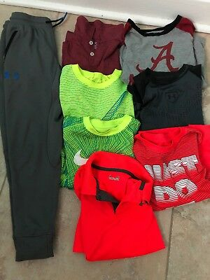 Boys Size Small 6-7 Nike Under Armour Lot Of 8 Clothes