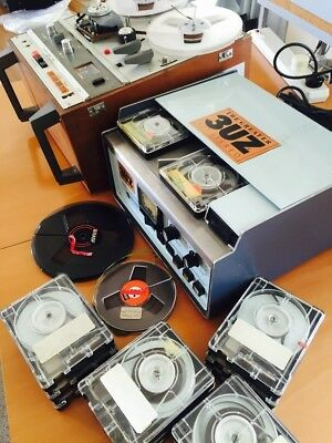 Early Commercial Radio Collector/Rareity, Cart Machine, Akai Reel to Reel