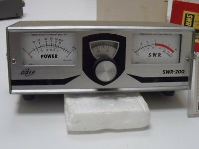 Osker Block power and VSWR meter, model SWR-200, new in original box