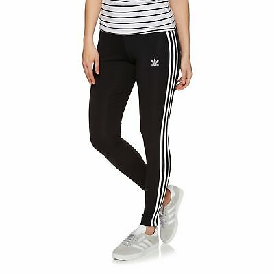 d78ec019c9cbc ADIDAS ORIGINALS 3 Stripe Womens Pants Leggings - Black All Sizes ...