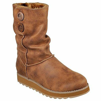 Skechers Keepsakes 2.0 Upland Womens Boots - Chestnut All Sizes