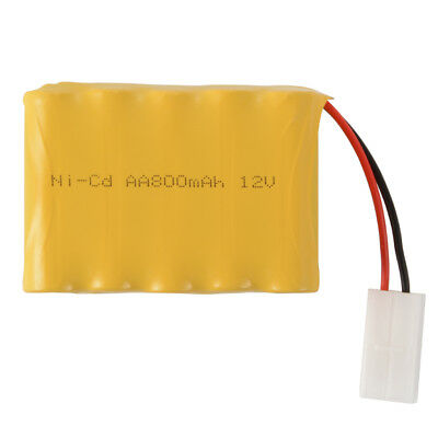 12V 800mAh Ni-Cd AA Rechargeable Battery Spare Pack with KET-2P Plug Toys BC801