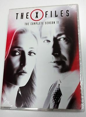 The X-Files: Complete Eleventh Season 11 (3-Disc Set DVD) Free shipping