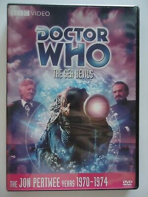 2008 Usa Region 1 Dvd Doctor Who Jon Pertwee The Sea Devils Story # 62 - 1 Disc