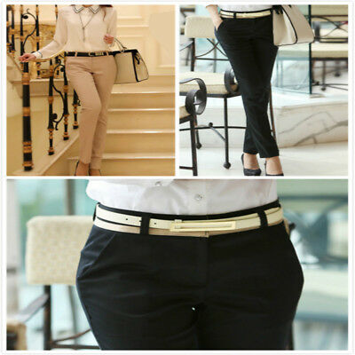 Ladies Harem Pants Office Suit Pants Women Casual Pencil Long Pants Trousers LG