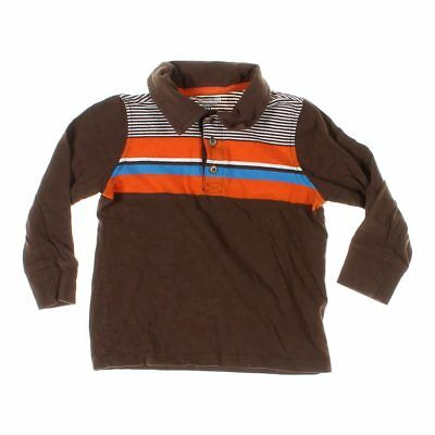 Old Navy Boys Polo Shirt, size 4/4T,  brown,  cotton