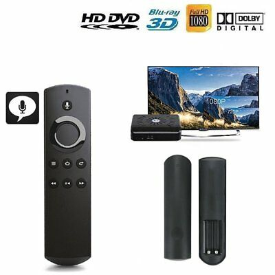 UK DR49WK B Replacement Remote Control +Alexa Voice For Amazon Fire TV Stick