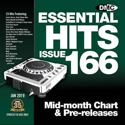 DMC Essential Hits 166 DJ CD Radio Edit Chart Music ft Chris Brown Undecided