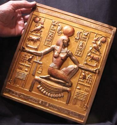 """""""HEH"""" GOD OF ENDLESS TIME Egyptian relief from Tutenkhamun's Tomb"""