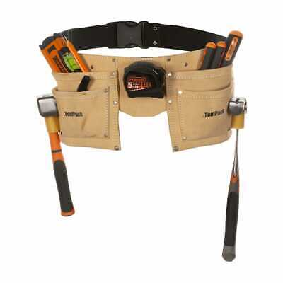Toolpack Double-Pouch/ Bag/Storage/Kit Tool Belt Leather Regular 366.008
