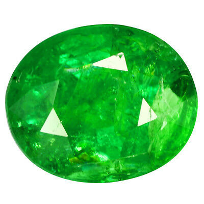 8.38Ct STUNNING PEAR CUT! LUSTROUS GREEN !!100% NATURAL TSAVORITE!!!