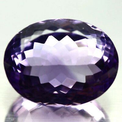 20.83 Ct Natural! Purple Clr Change To Pink Brazilian Amethyst Oval