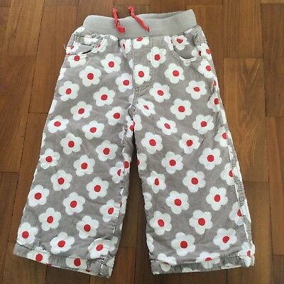 New Mini Boden Girls Strawberry Print Trousers Ag 18 Months To 24 Months, Age 2