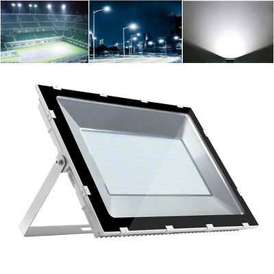 500W High Power LED Floodlight Cool White Outdoor Wall Security Light IP65 220V