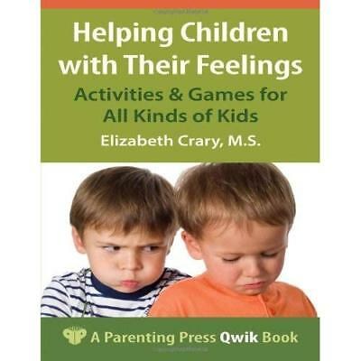 Helping Children with Their Feelings: Activities & Game - Paperback NEW Elizabet