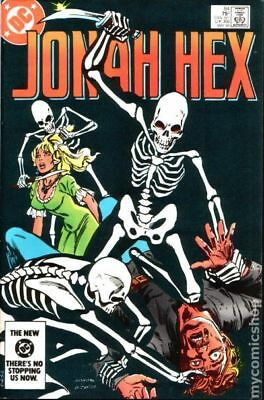 Jonah Hex (1st Series) #84 1984 VG+ 4.5 Stock Image Low Grade