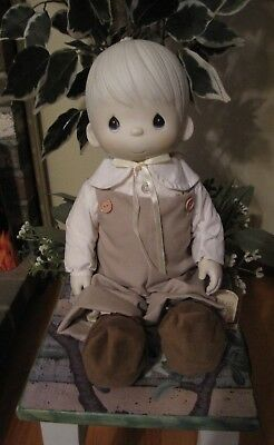 "Vintage 1981 Precious Moments Enesco 17"" Mikey Doll"