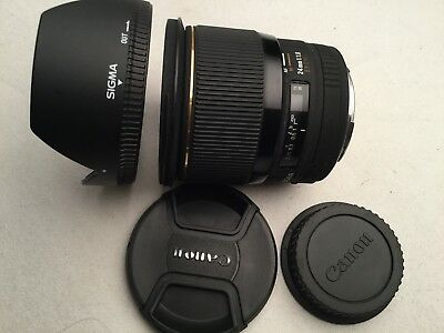 Sigma 24mm f/1.8 EX DG Aspherical Macro Large Aperture Lens for Canon