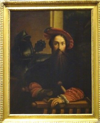 17th Century Old Master Portrait Of An Italian Gentleman Parmagianino Antique