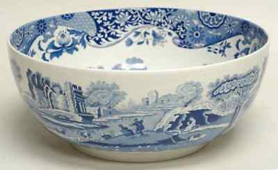 "Spode BLUE ITALIAN 9 5/8"" Salad Serving Bowl 1835189"