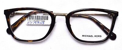 8e45575802eef MICHAEL KORS 4054 3336 Captiva Eyeglass Glasses Frames 52-20-140 Dark  Tortoise