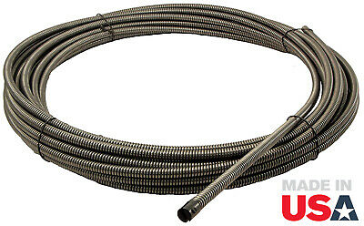 """1/2"""" x 75' Replacement Drain Cable Snake w/ Aircraft Wire Core (51075SLT)"""