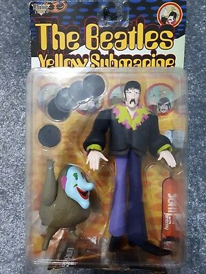 Brand New vintage The Beatles Yellow Submarine John Lennon With Jeremy Figures