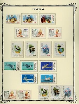 Portugal Scott Specialized Album Page Lot #106 - SEE SCAN - $$$