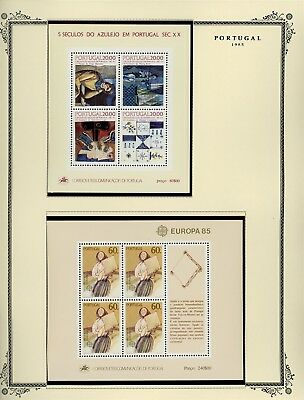 Portugal Scott Specialized Album Page Lot #118 - SEE SCAN - $$$