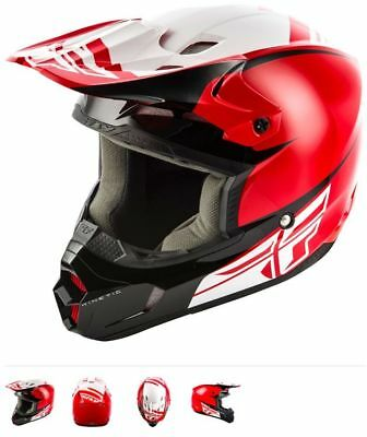 Fly Racing Helm Kinetic Sharp  MOTOCROSS AIROH TWIST ONEAL 2SERIES rot weiss