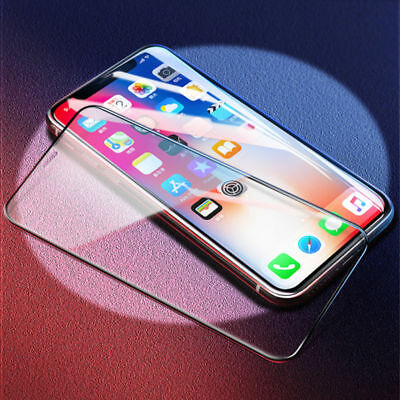 IPhone X 8 7 Plus Curved Full Coverage Tempered 6D Glass Screen Protector sm