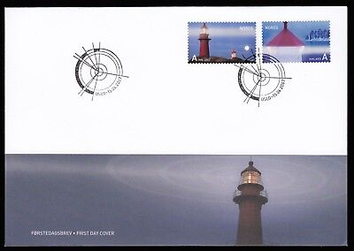 Norway 2007 FDC Lighthouses