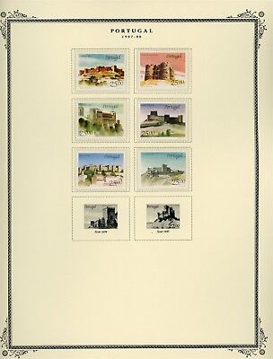 Portugal Scott Specialized Album Page Lot #130 - SEE SCAN - $$$