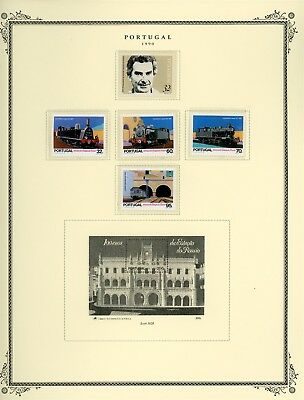 Portugal Scott Specialized Album Page Lot #145 - SEE SCAN - $$$
