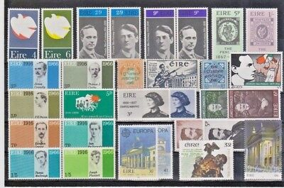 Ireland Eire. Easter Rising & Irish Patriots. 46 MNH Stamps.