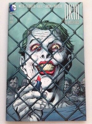 Dark Knight Iii The Master Race Bok Four (4) Variant By Jim Lee