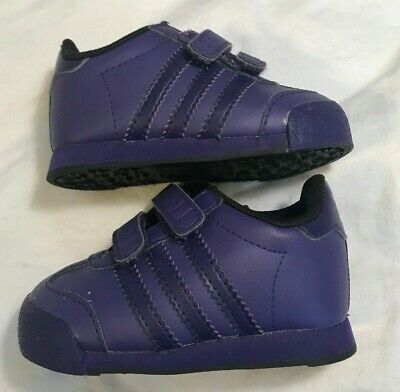 ADIDAS Toddler Baby Girl Infant Shoes Casual Sneakers Purple Ortholite Sz 4k