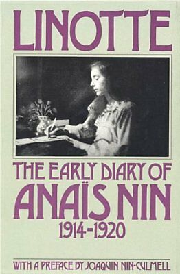 Complete Set Series Lot of 3 Early Diary of Anais Nin - Nin-Culmell (Biography)
